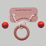 Knotted Ring Puzzle