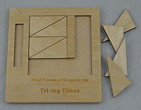 Tri-ing Times Puzzle